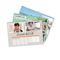 3 x A4 Landscape Personalised Calendar incl Delivery